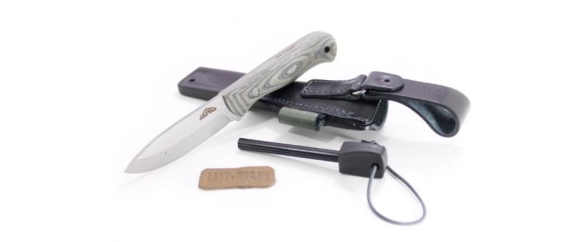 Нож туристический NC-Custom Flint + огниво