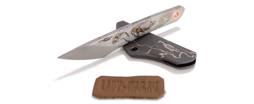 Нож NC-Custom Koi Kiridashi Beadblast (матовый)