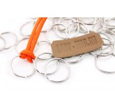 Металлическое кольцо для темляка из паракорда (набор из 4 шт)