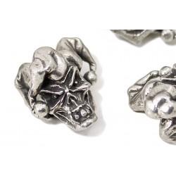 Металлический череп JESTER SKULL для темляка из паракорда