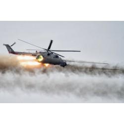 Сборная модель вертолета МИ-24 масштаб 1:72 Revell