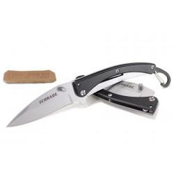 Нож-брелок-зажим для денег Шраде (Schrade) Pocket Protector Black