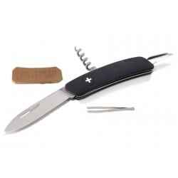 Складной швейцарский нож Swiza D01 Black (черный)
