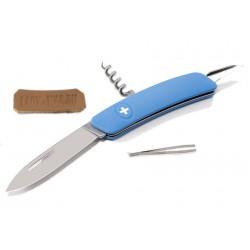 Складной швейцарский нож Swiza D01 Blue (синий)