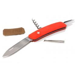 Складной швейцарский нож Swiza D01 Red (красный)