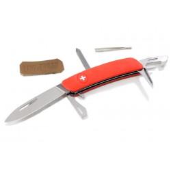 Складной швейцарский нож Swiza D04 Red (красный)