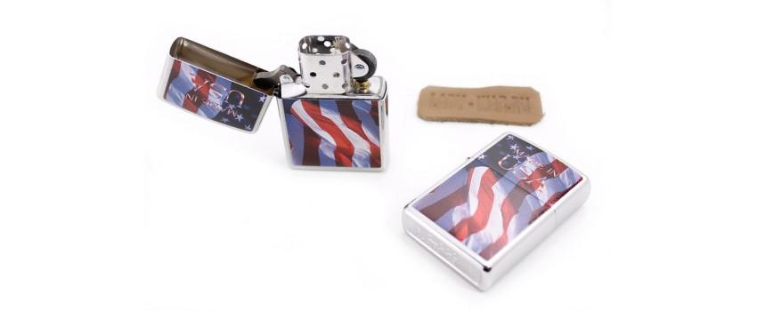 Зажигалка Zippo Made in USA Flag