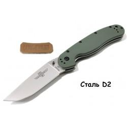 Складной нож Ontario RAT-1 Olive из стали D2