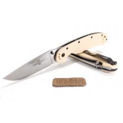 Складной нож Ontario RAT-1 Desert Tan из стали AUS-8A