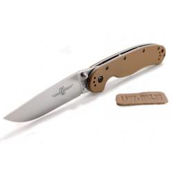 Складной нож Ontario RAT-1 Brown из стали AUS-8A