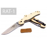 Складной нож Ontario RAT-1 Plain/Desert Tan handle