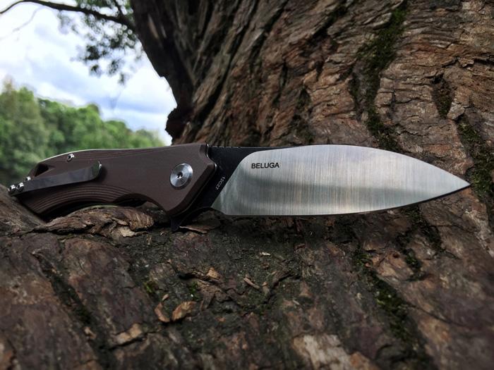 Складной нож Bestech Beluga Brown
