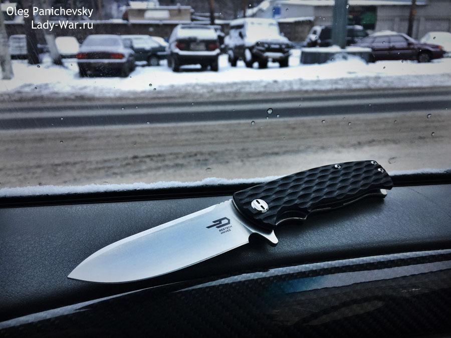 Складной нож Bestech Grampus Black