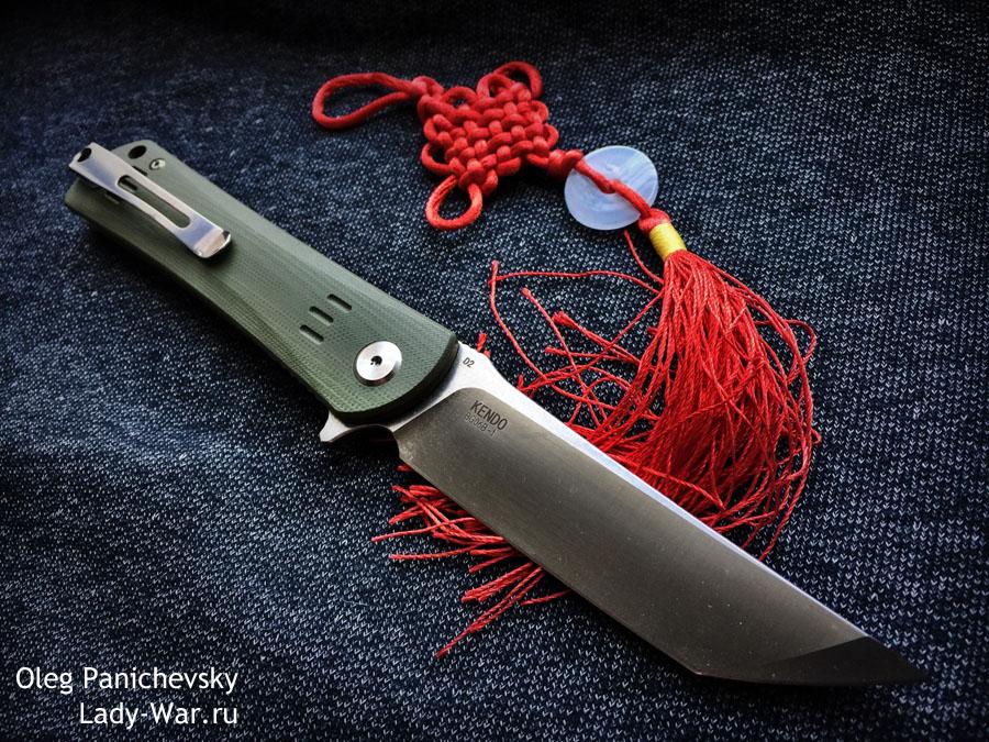 Складной нож Bestech Kendo Green