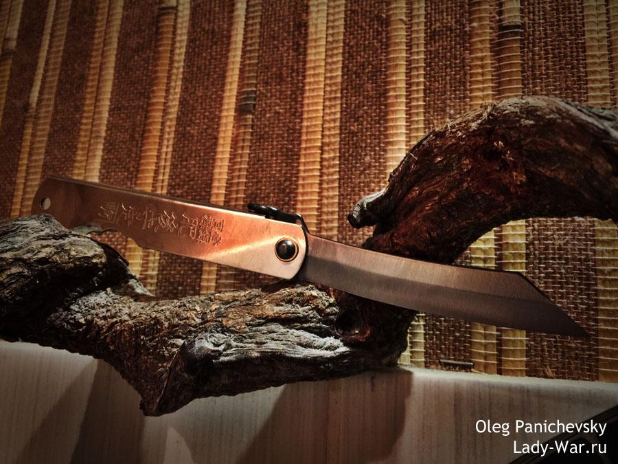 Складной нож Хигоноками (Higonokami) 04SL 73мм
