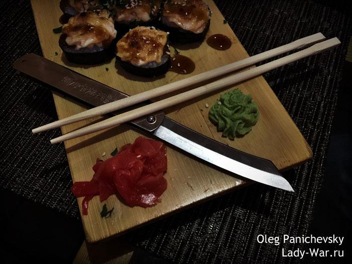 Складной нож Хигоноками (Higonokami) 05SL 95мм