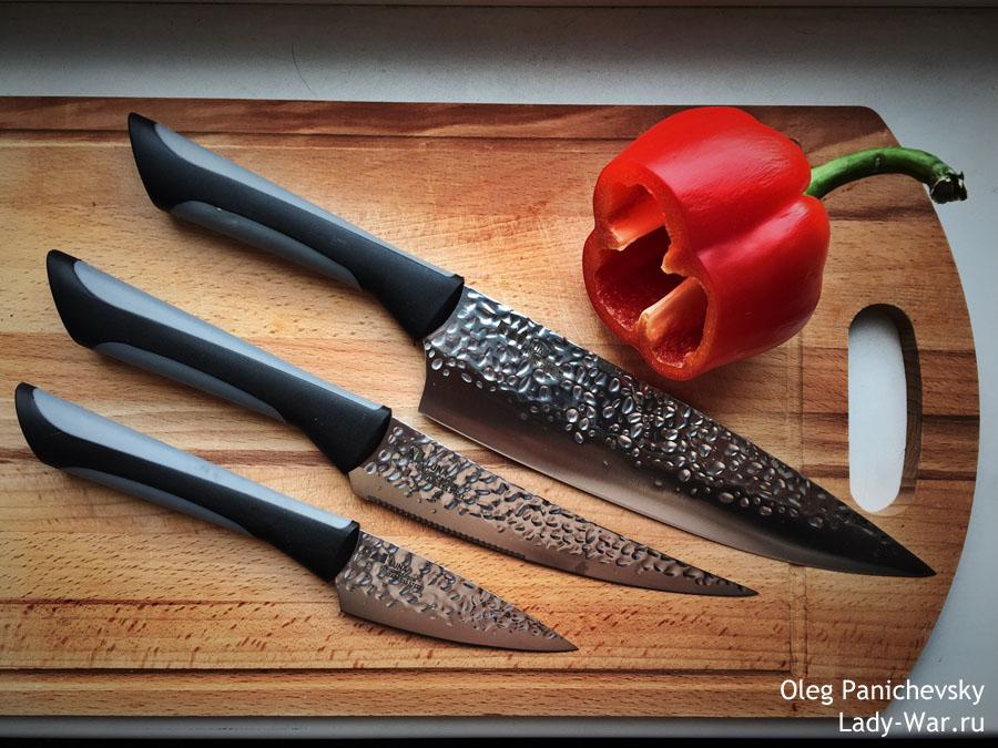 Набор кухонных ножей Kershaw Luna
