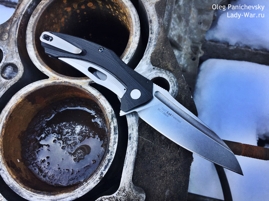 Нож с ассистом Kershaw Natrix