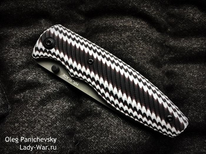 Mr. Blade Zipper Colored