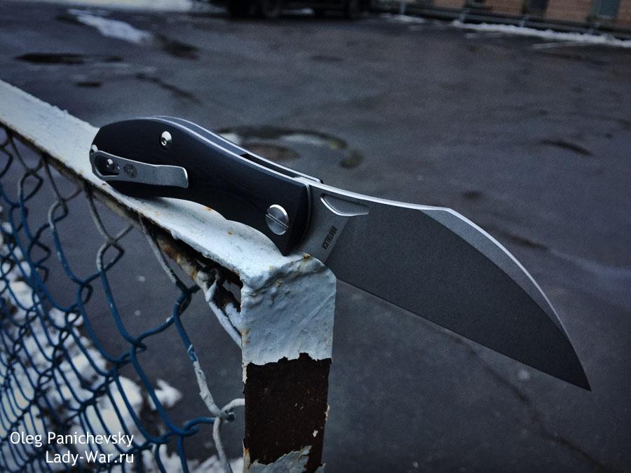Складной нож Царап (Tsarap) Black