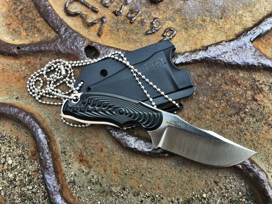 Нож на шею CRKT Civet 2805 Bowie