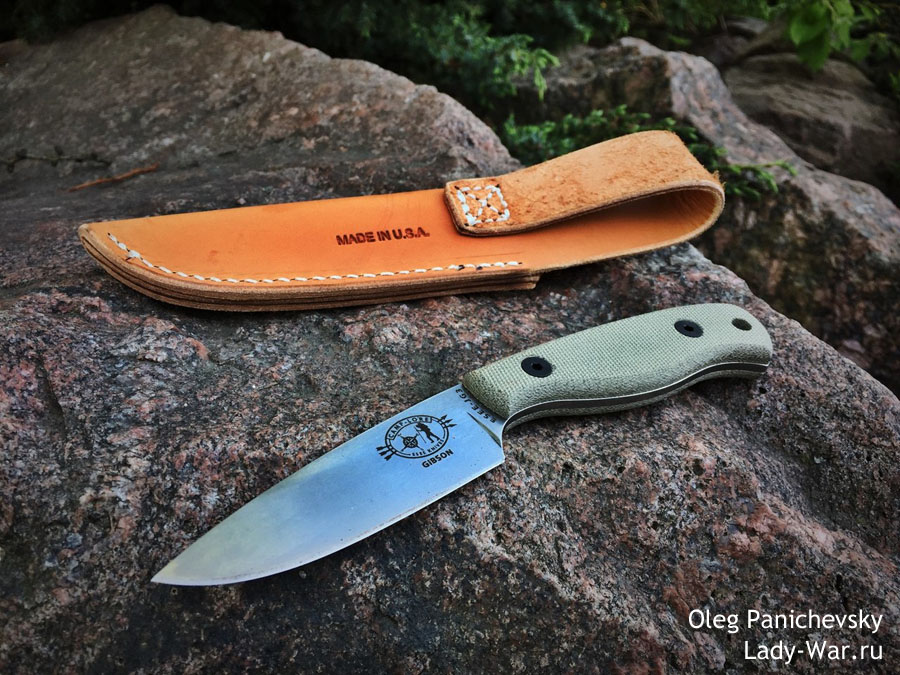 Нож ESEE Camp Lore James Gibson