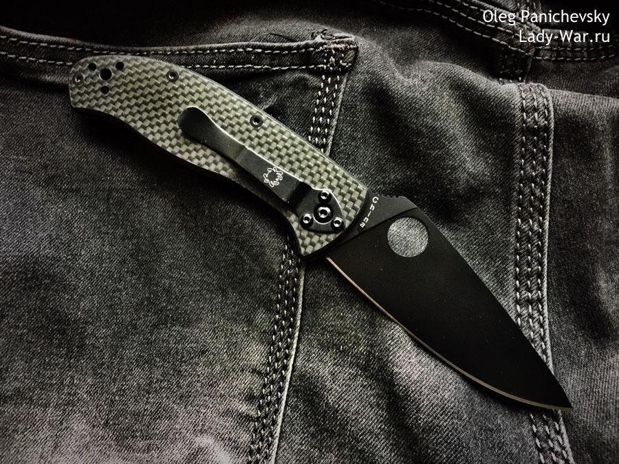 Spyderco Tenacious Carbon Black
